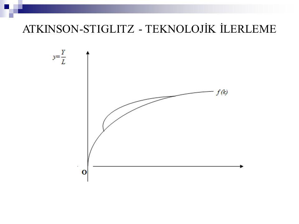ATKINSON-STIGLITZ - TEKNOLOJİK İLERLEME