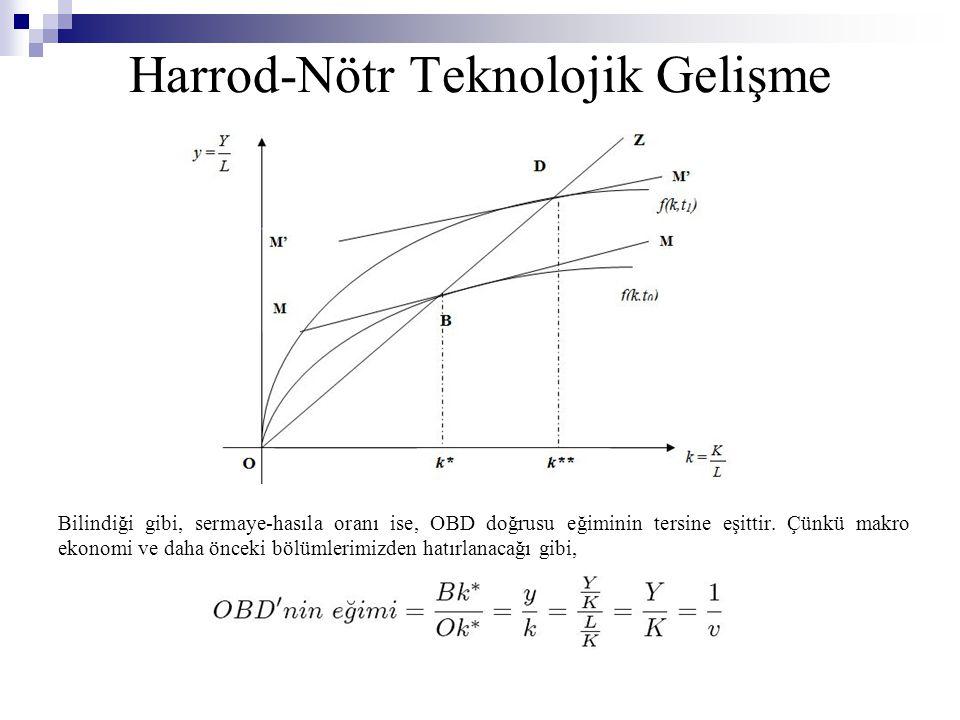 Harrod-Nötr Teknolojik Gelişme