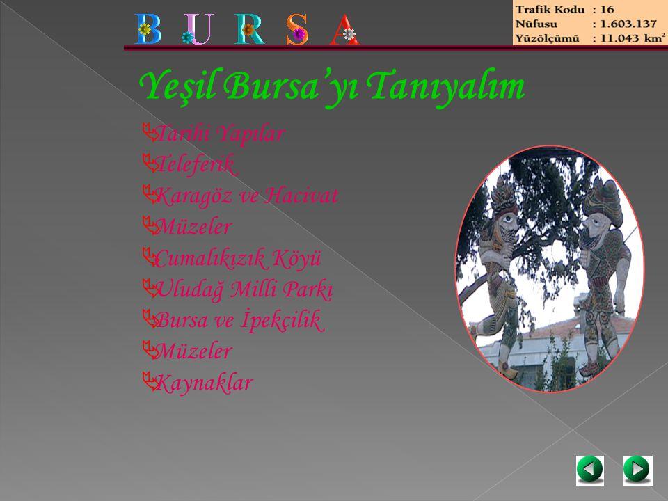 Yeşil Bursa'yı Tanıyalım