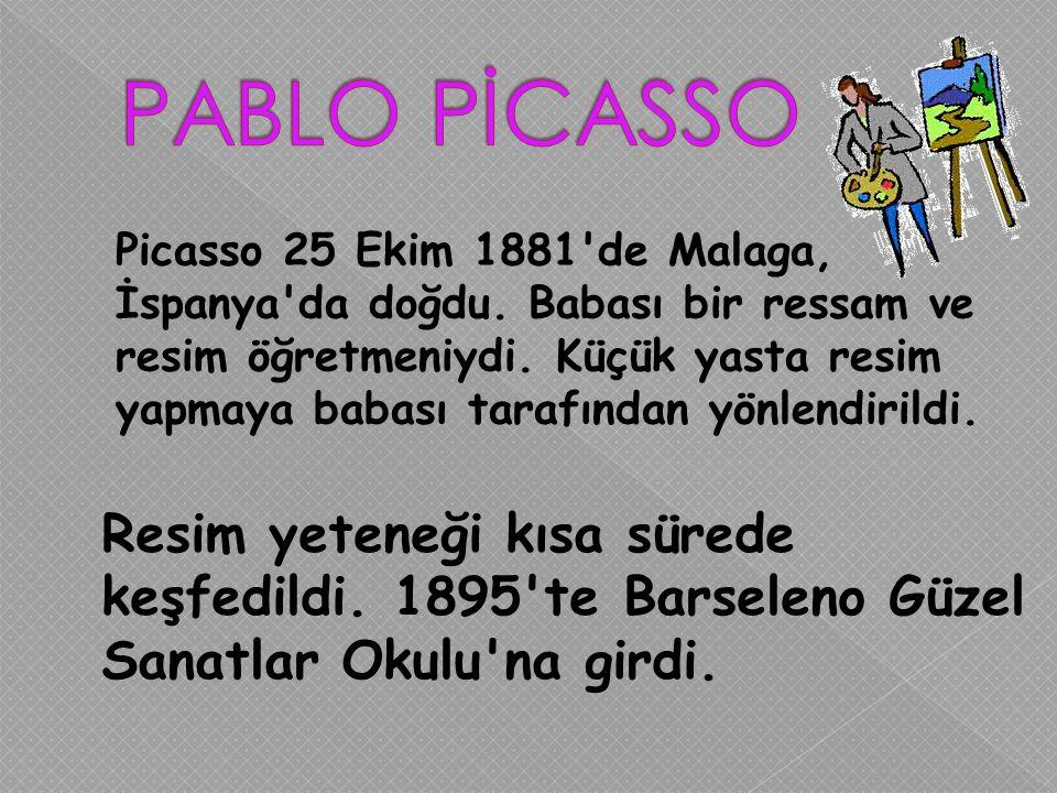 PABLO PİCASSO