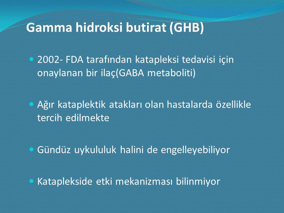Gamma hidroksi butirat (GHB)
