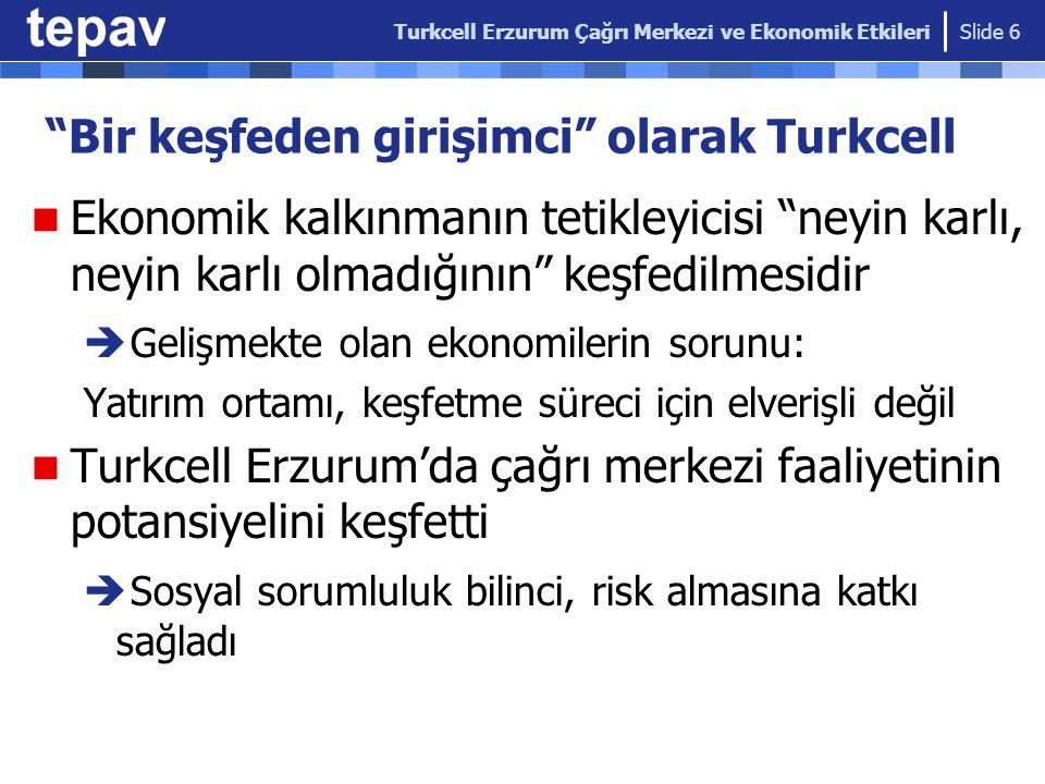 Bir keşfeden girişimci olarak Turkcell