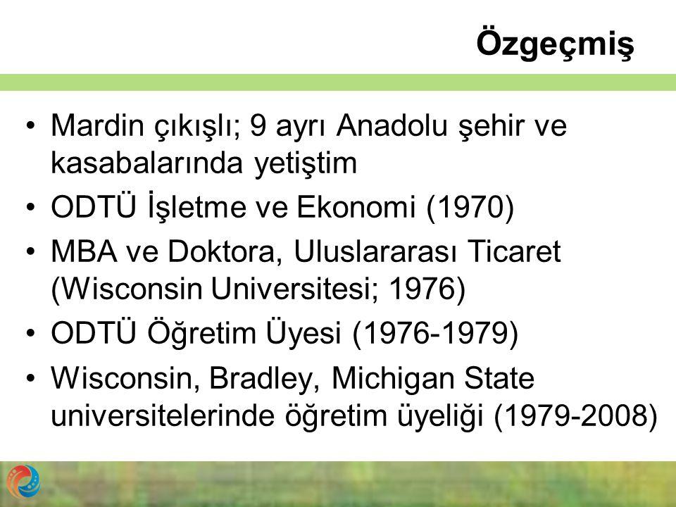 Özgeçmiş Mardin çıkışlı; 9 ayrı Anadolu şehir ve kasabalarında yetiştim. ODTÜ İşletme ve Ekonomi (1970)