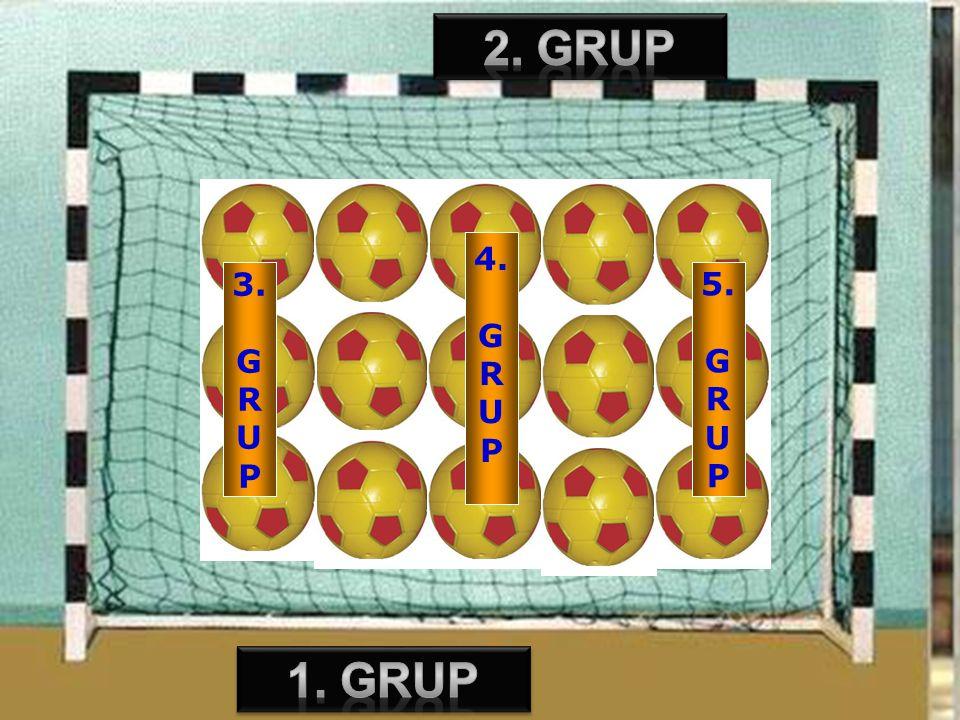 2. grup 4. G R U P 3. G R U P 5. G R U P 1. grup