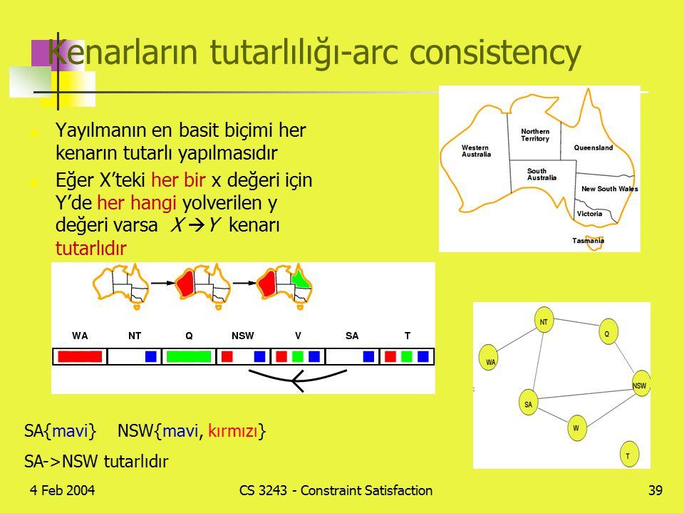 Kenarların tutarlılığı-arc consistency