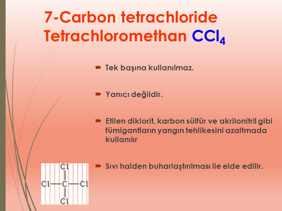 7-Carbon tetrachloride Tetrachloromethan CCl4