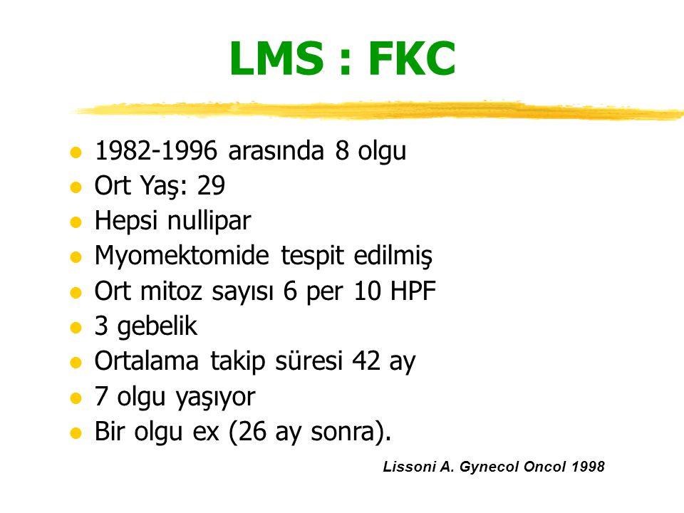 Lissoni A. Gynecol Oncol 1998
