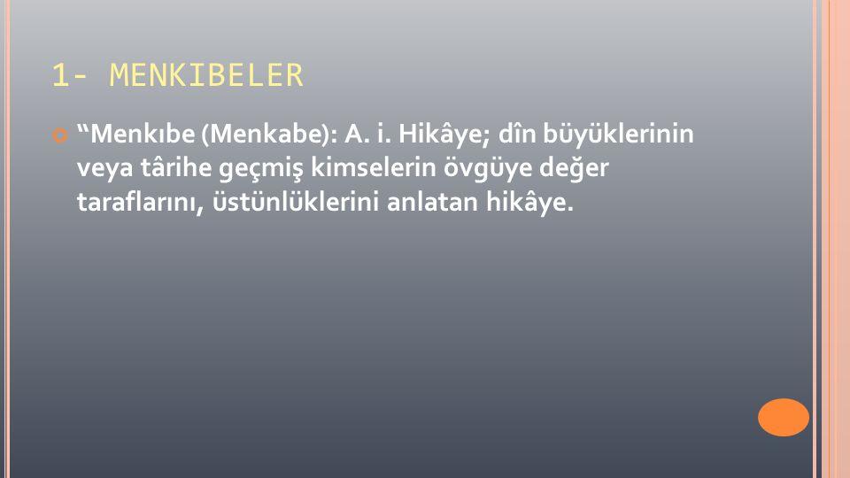 1- MENKIBELER