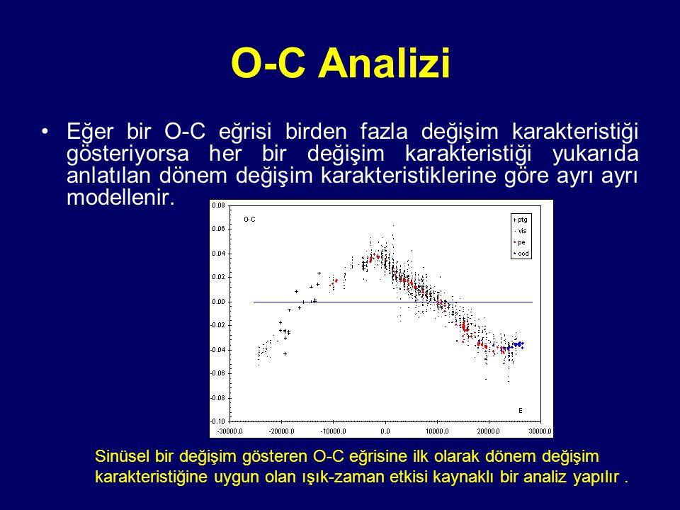 O-C Analizi