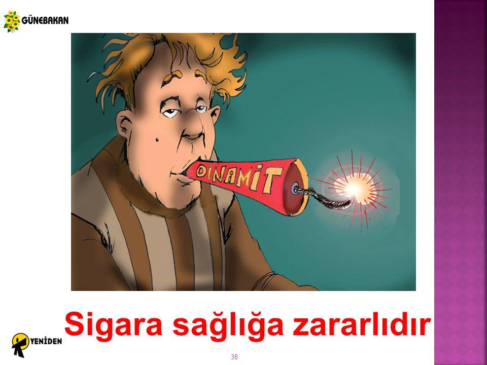Sigara sağlığa zararlıdır