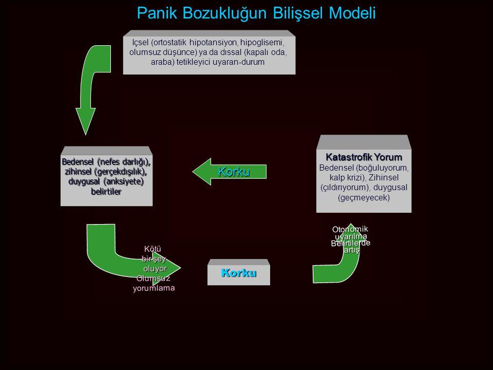 Panik Bozukluğun Bilişsel Modeli