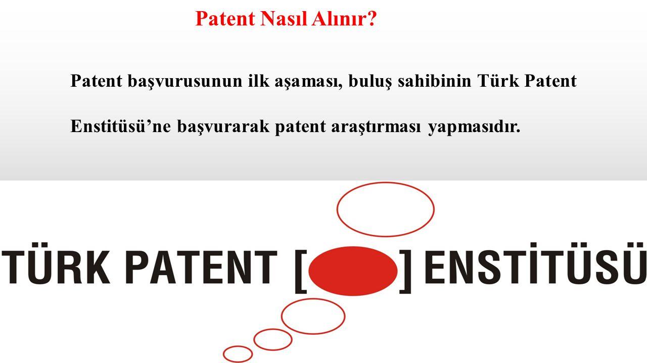 Patent Nasıl Alınır.