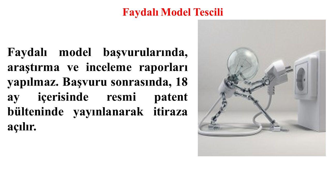 Faydalı Model Tescili