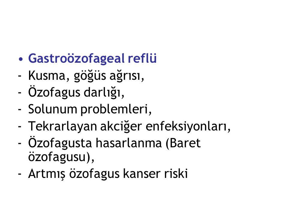 Gastroözofageal reflü