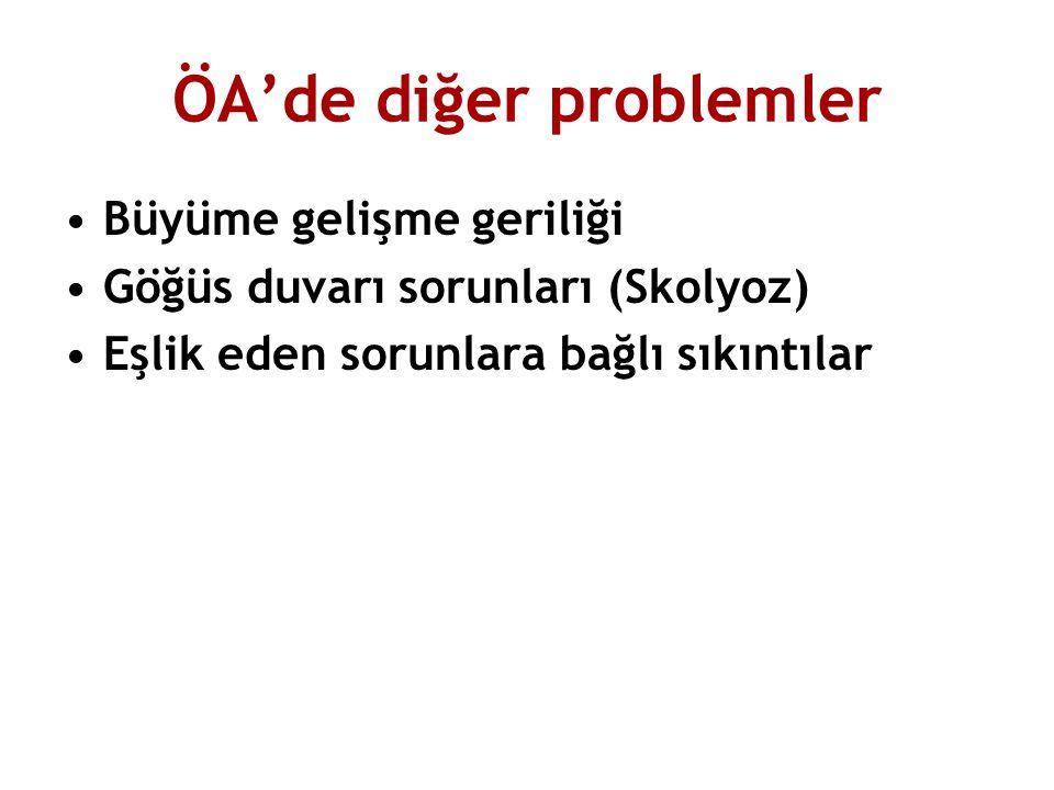 ÖA'de diğer problemler
