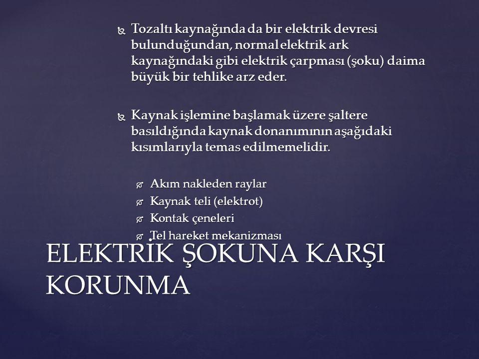 ELEKTRİK ŞOKUNA KARŞI KORUNMA