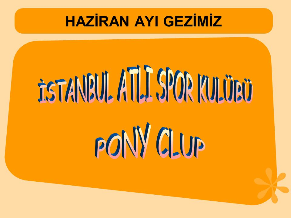 İSTANBUL ATLI SPOR KULÜBÜ