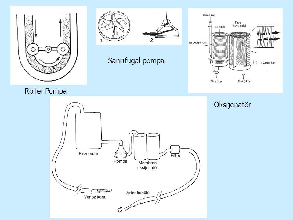Sanrifugal pompa Roller Pompa Oksijenatör