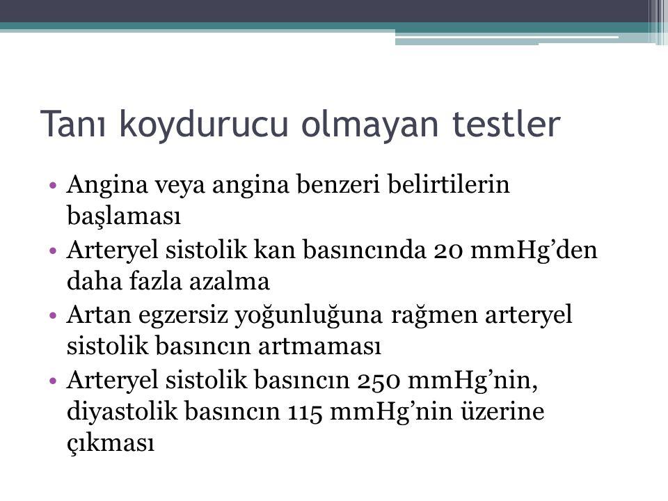 Tanı koydurucu olmayan testler