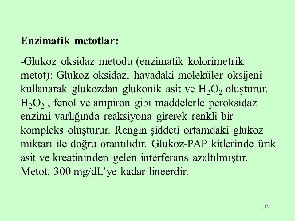 Enzimatik metotlar: