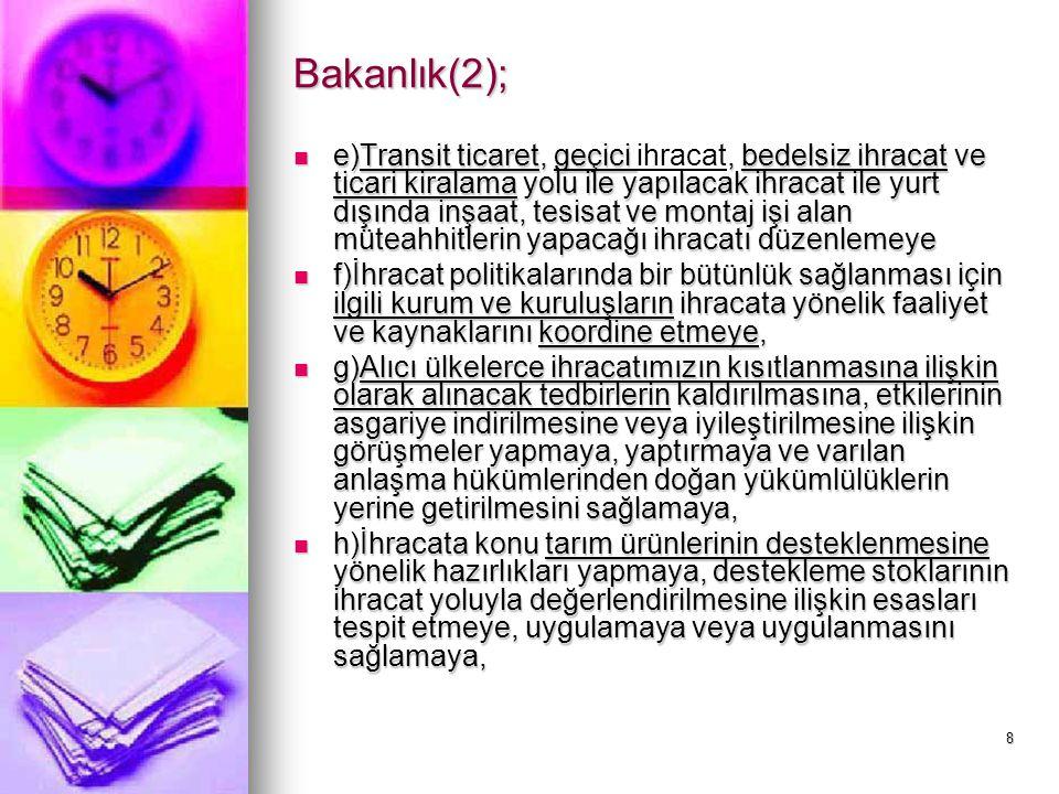 Bakanlık(2);