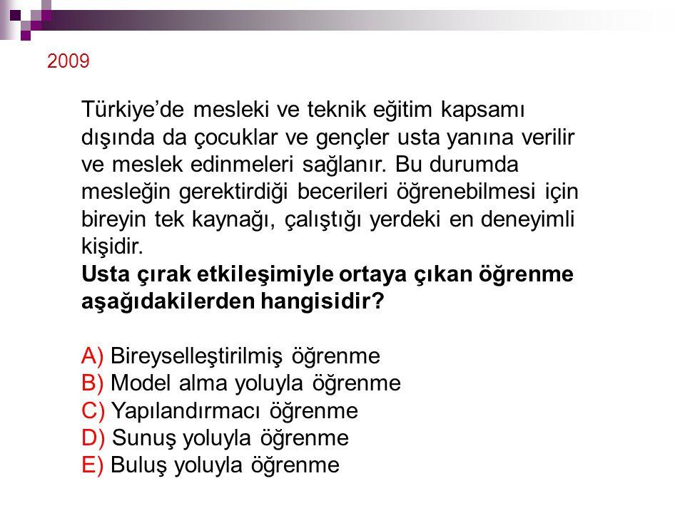 Türkiye'de mesleki ve teknik eğitim kapsamı