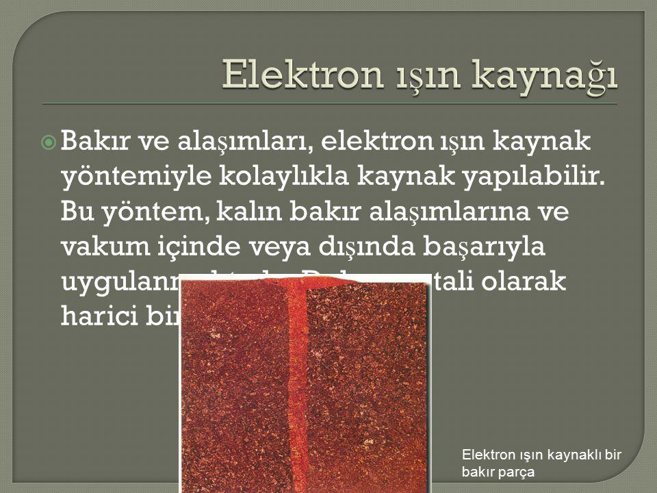 Elektron ışın kaynağı