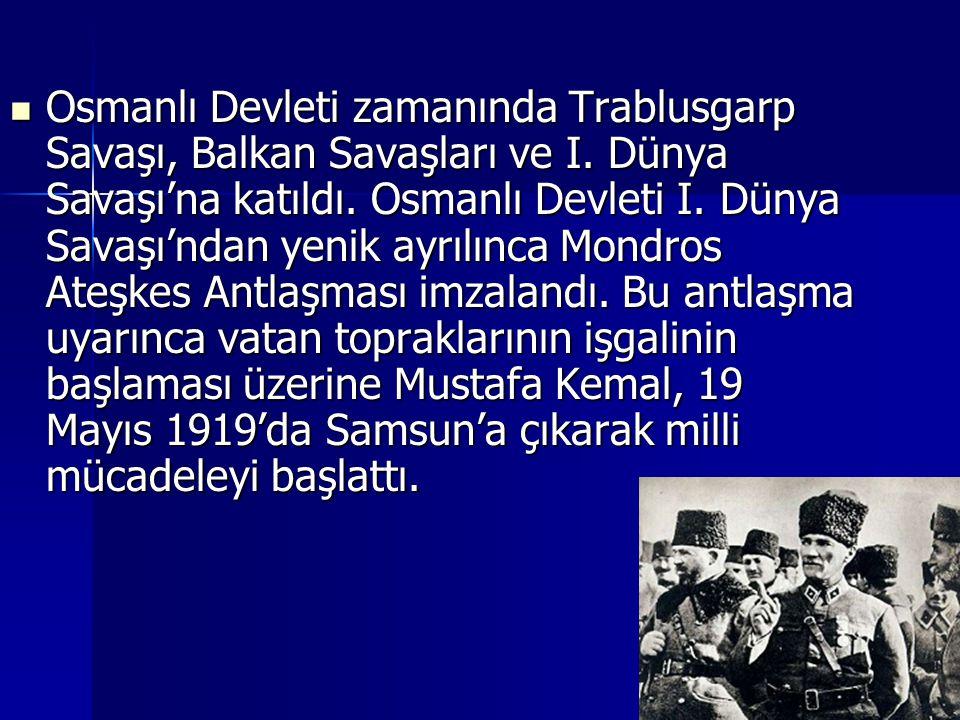 Osmanlı Devleti zamanında Trablusgarp Savaşı, Balkan Savaşları ve I