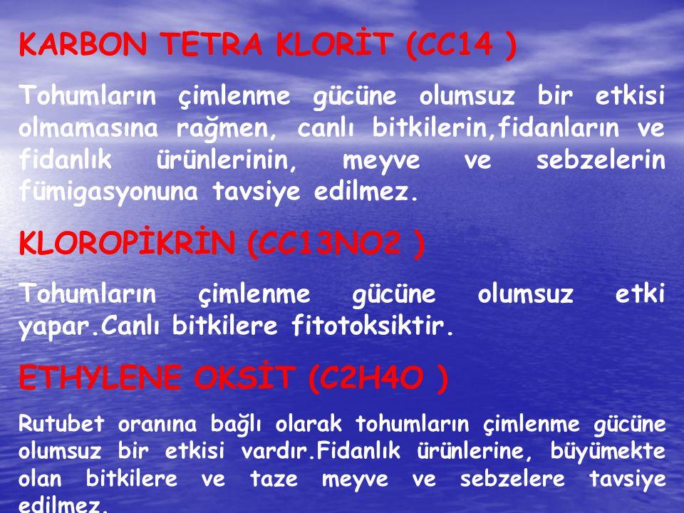 KARBON TETRA KLORİT (CC14 )