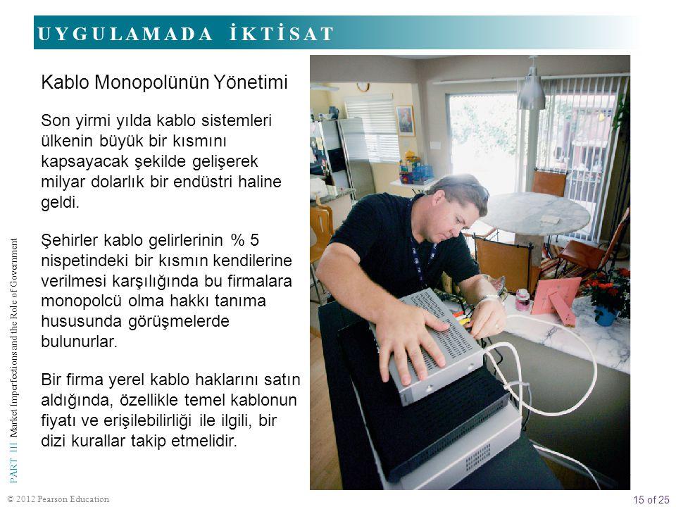 Kablo Monopolünün Yönetimi