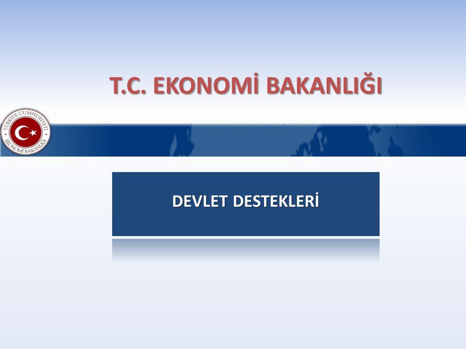 T.C. EKONOMİ BAKANLIĞI DEVLET DESTEKLERİ