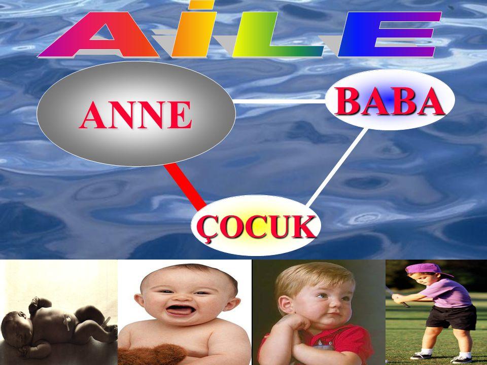 AİLE ANNE BABA ÇOCUK