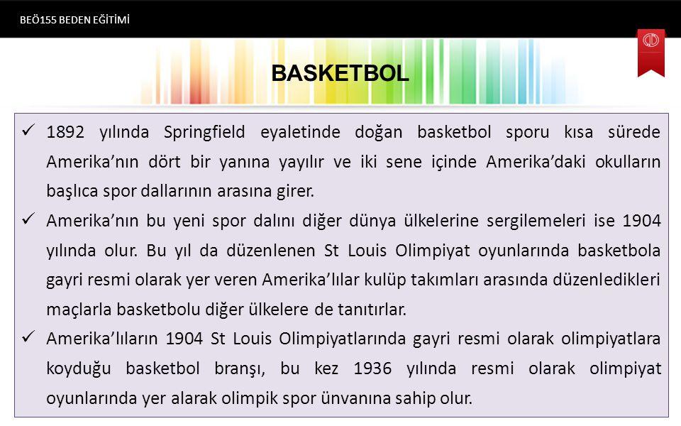 BEÖ155 BEDEN EĞİTİMİ BASKETBOL.