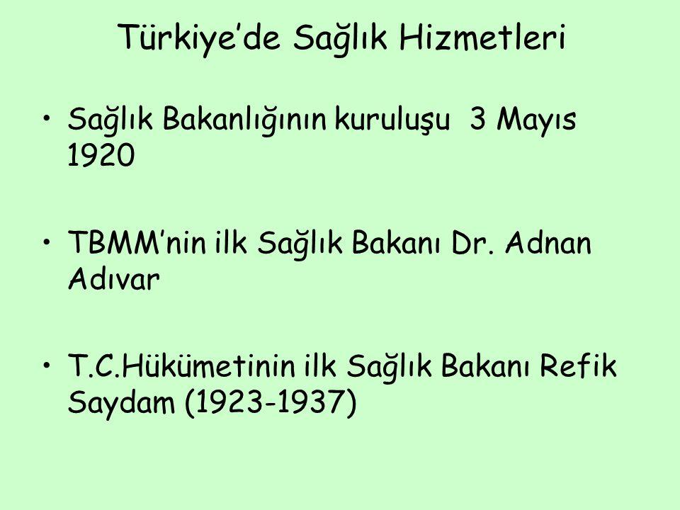 Türkiye'de Sağlık Hizmetleri