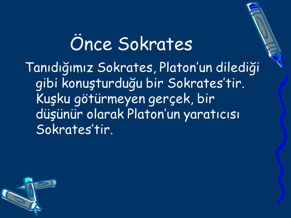 Önce Sokrates