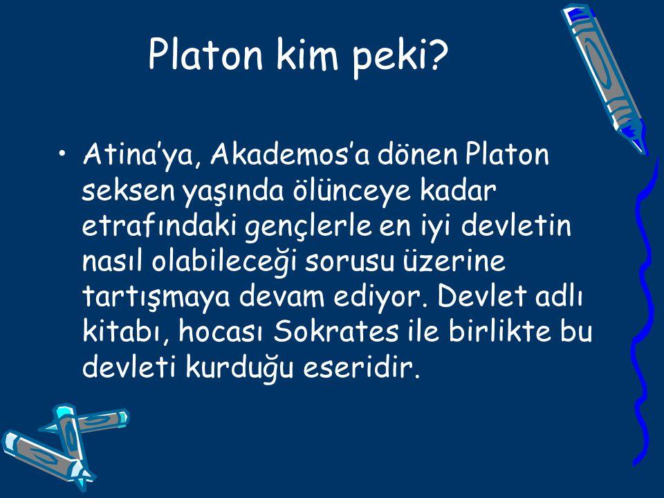 Platon kim peki