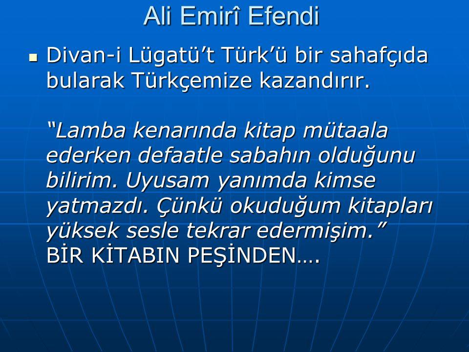 Ali Emirî Efendi