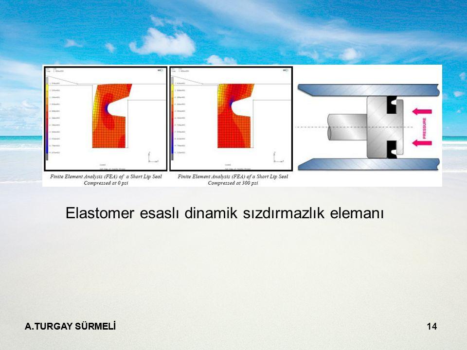 Elastomer esaslı dinamik sızdırmazlık elemanı