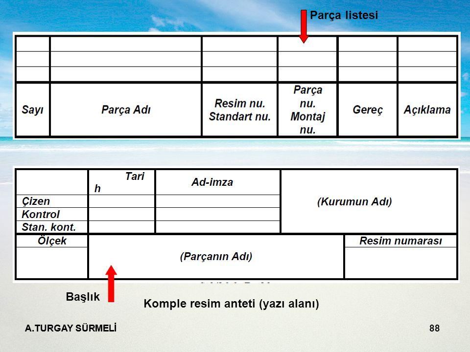 Komple resim anteti (yazı alanı)