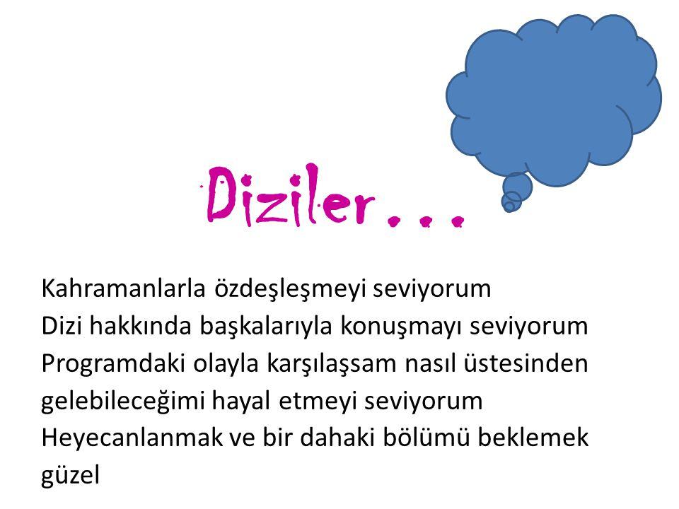 Diziler…