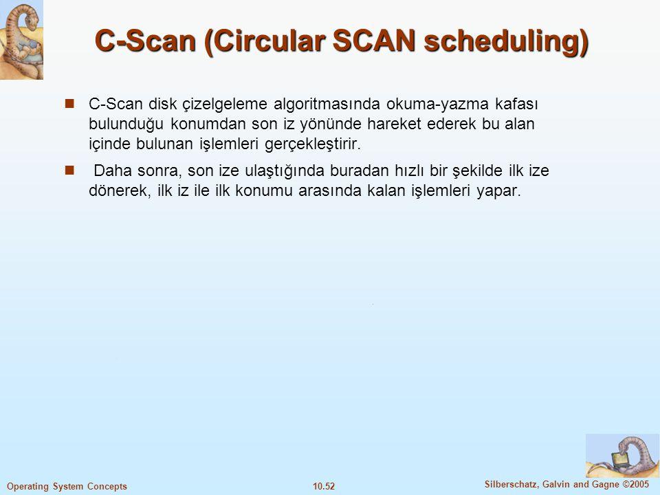 C-Scan (Circular SCAN scheduling)