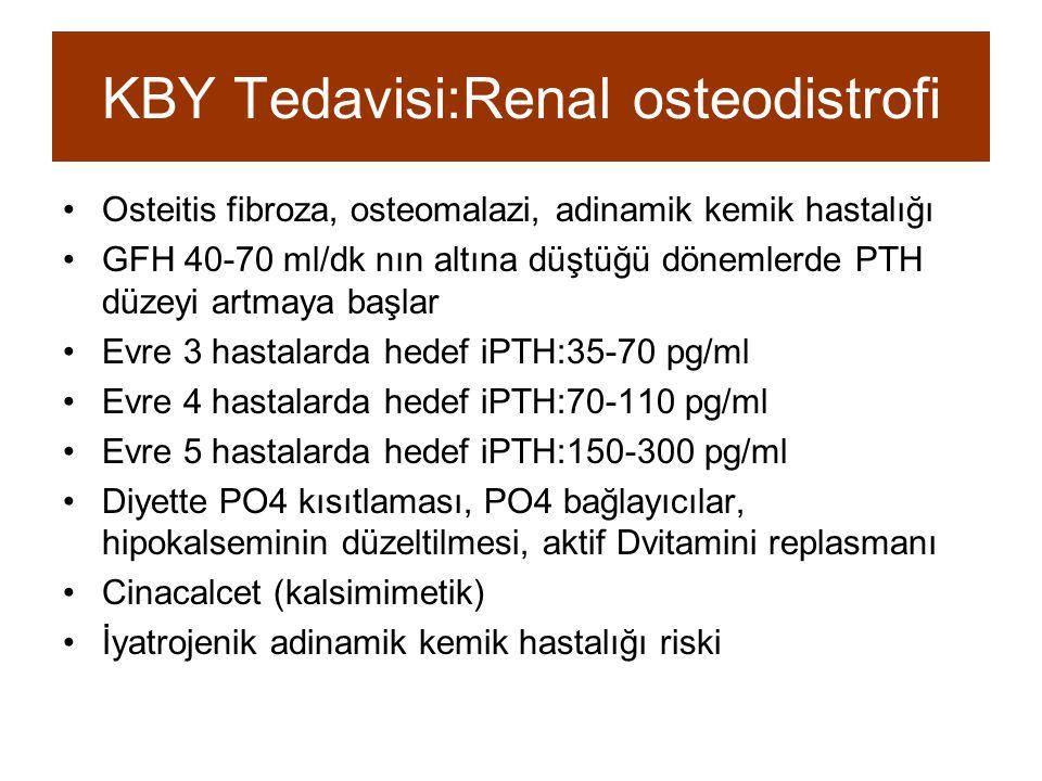 KBY Tedavisi:Renal osteodistrofi