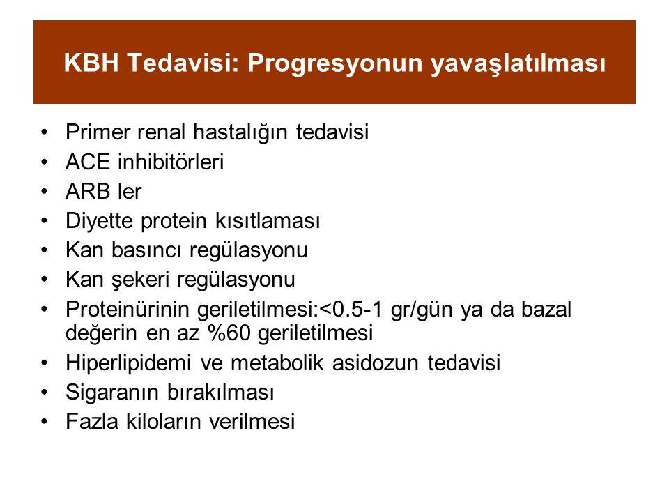 KBH Tedavisi: Progresyonun yavaşlatılması