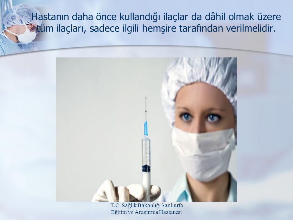 T.C. Sağlık Bakanlığı Şanlıurfa Eğitim ve Araştırma Hastanesi