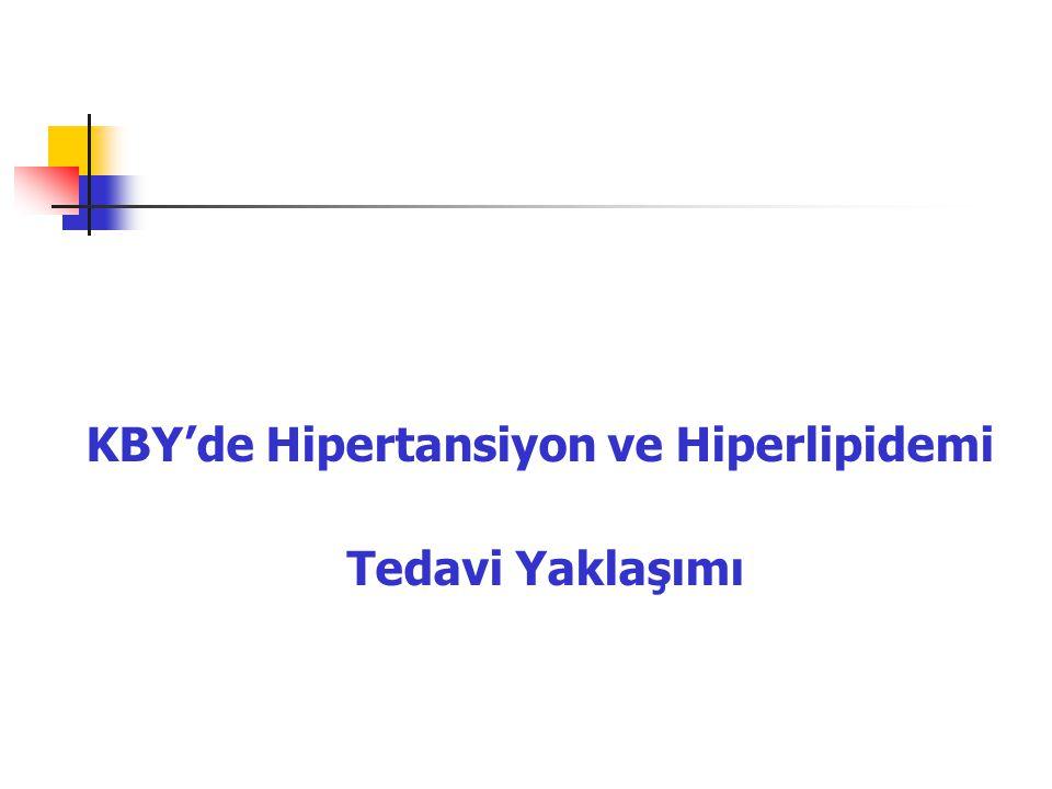 KBY'de Hipertansiyon ve Hiperlipidemi