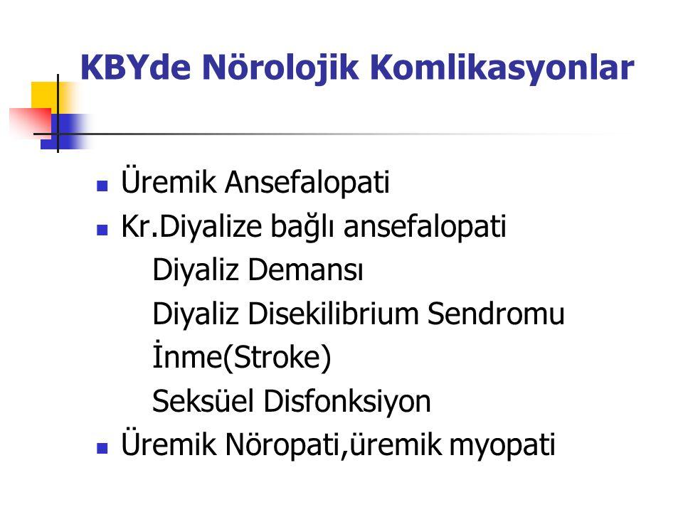 KBYde Nörolojik Komlikasyonlar