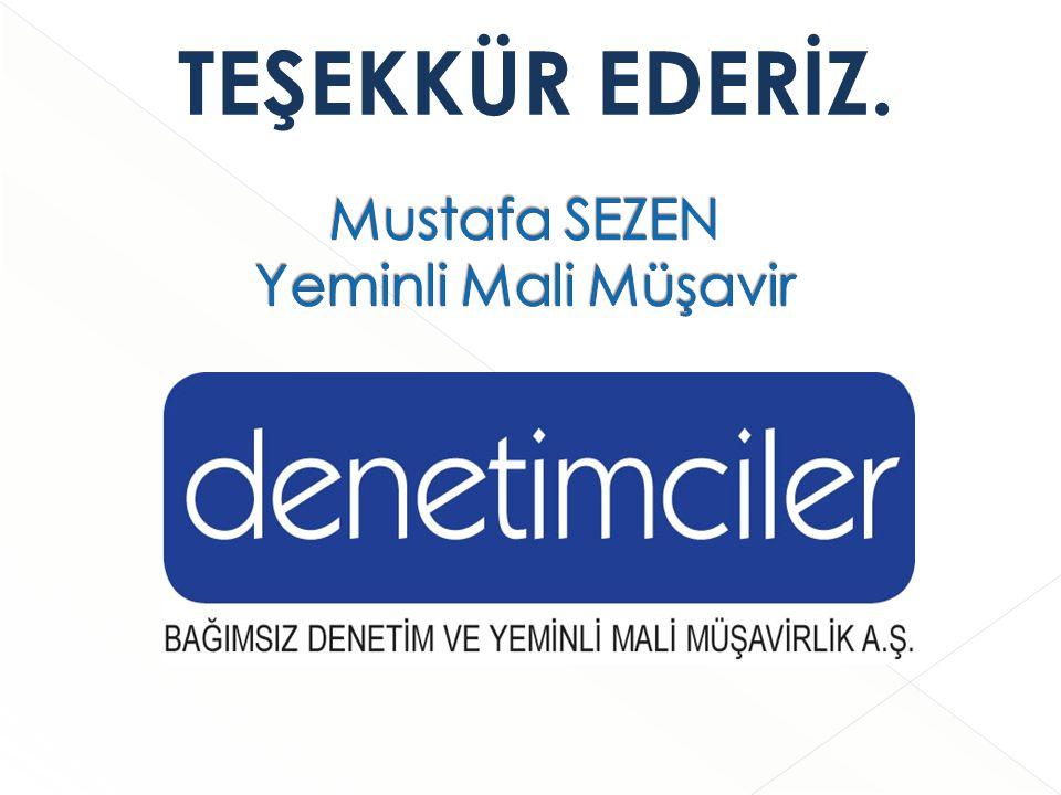 Mustafa SEZEN Yeminli Mali Müşavir