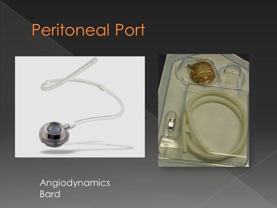 Peritoneal Port Angiodynamics Bard