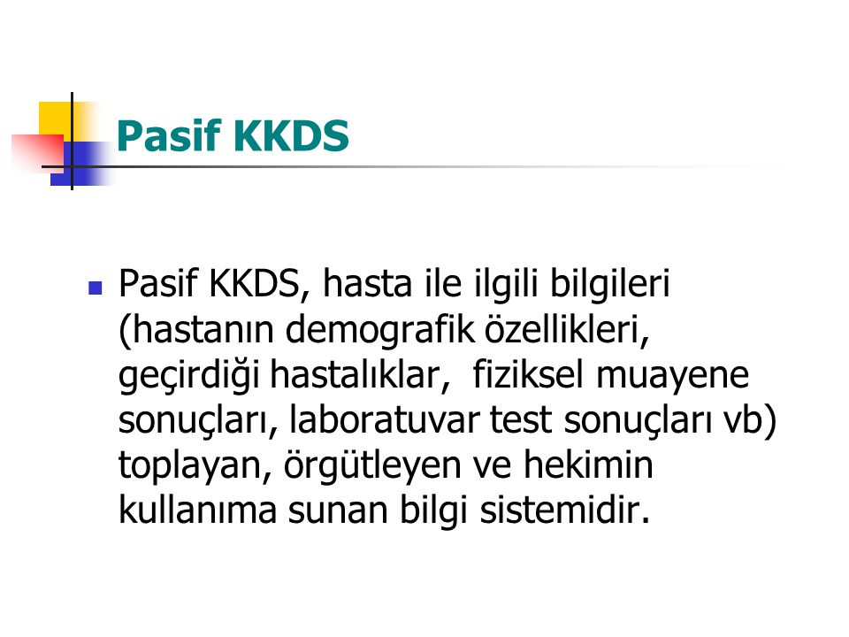 Pasif KKDS