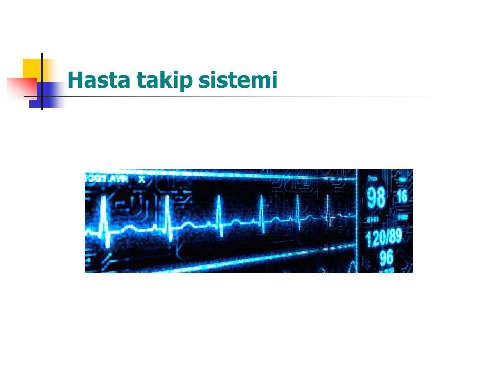 Hasta takip sistemi